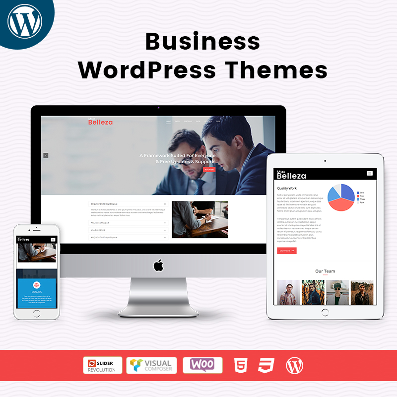 Business Responsive WordPress Themes