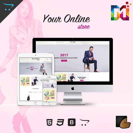 Responsive OpenCart ECommerce Theme – Fashion