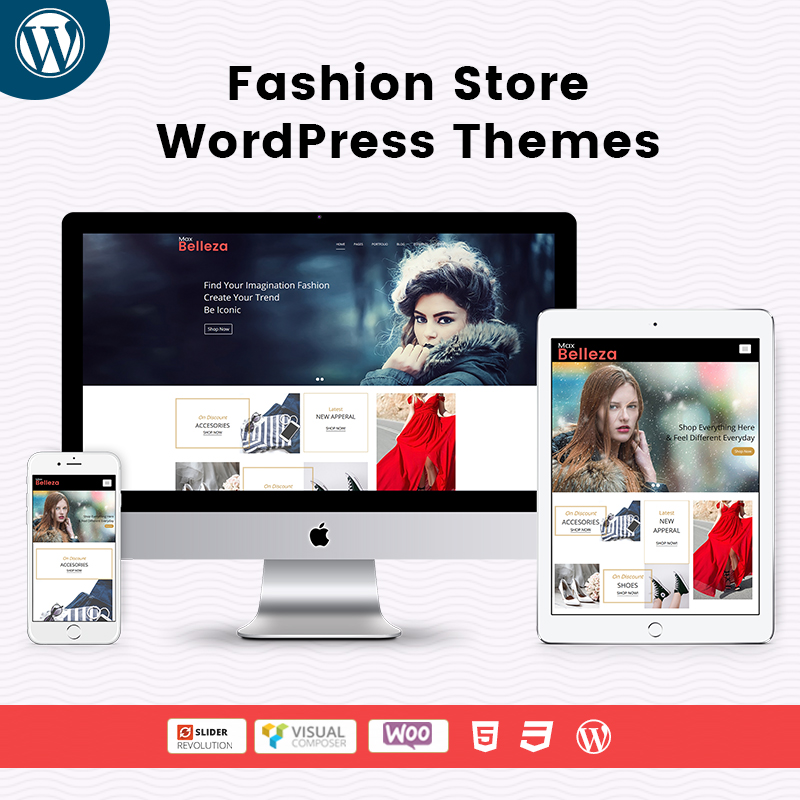 Responsive WordPress Theme For Fashion Store
