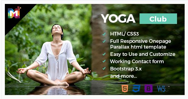 Parallax HTML Template