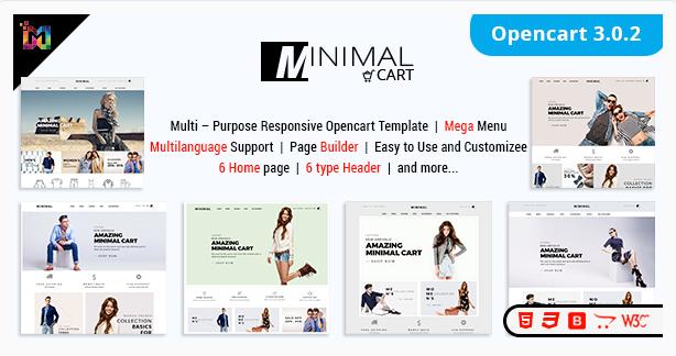 Responsive OpenCart 3 Theme