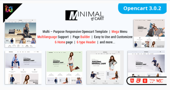 Responsive ECommerce OpenCart 3 Theme