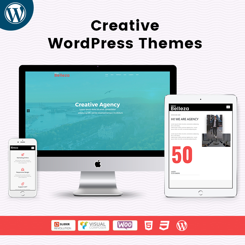 Creative Responsive WordPress Themes