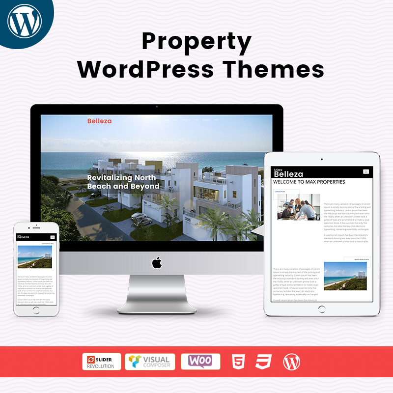 Responsive WordPress Themes For Max-Property