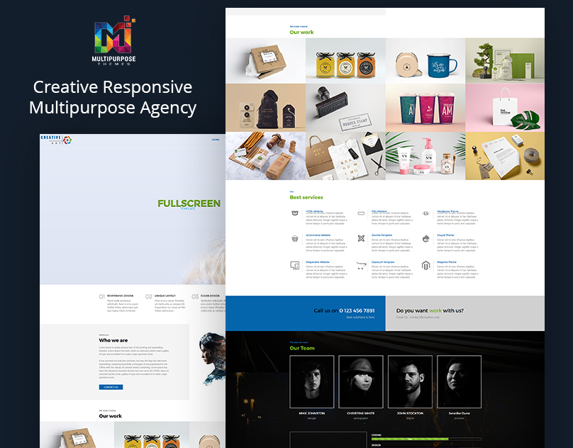 Multipurpose Html Template