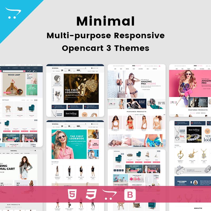 Minimal – Multipurpose Responsive Opencart 3 Themes