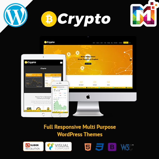 Crypto Currency – Premium Responsive WordPress Themes