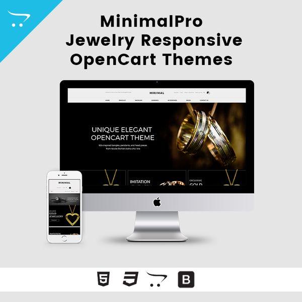 Minimal Pro – Jewelry Responsive OpenCart Theme