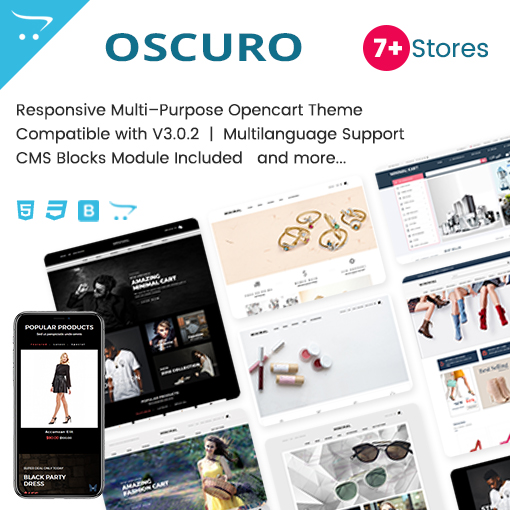 Oscuro – Responsive OpenCart Themes