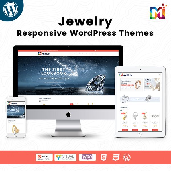 Responsive WooCommerce WordPress Theme Jewelry Store
