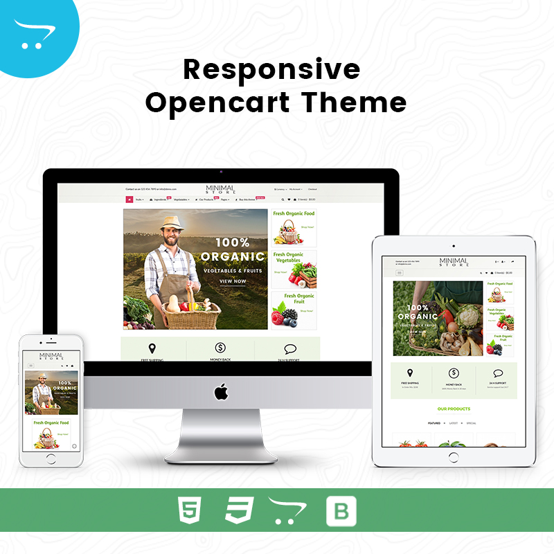 Minimal Store 6 – Responsive Opencart Theme