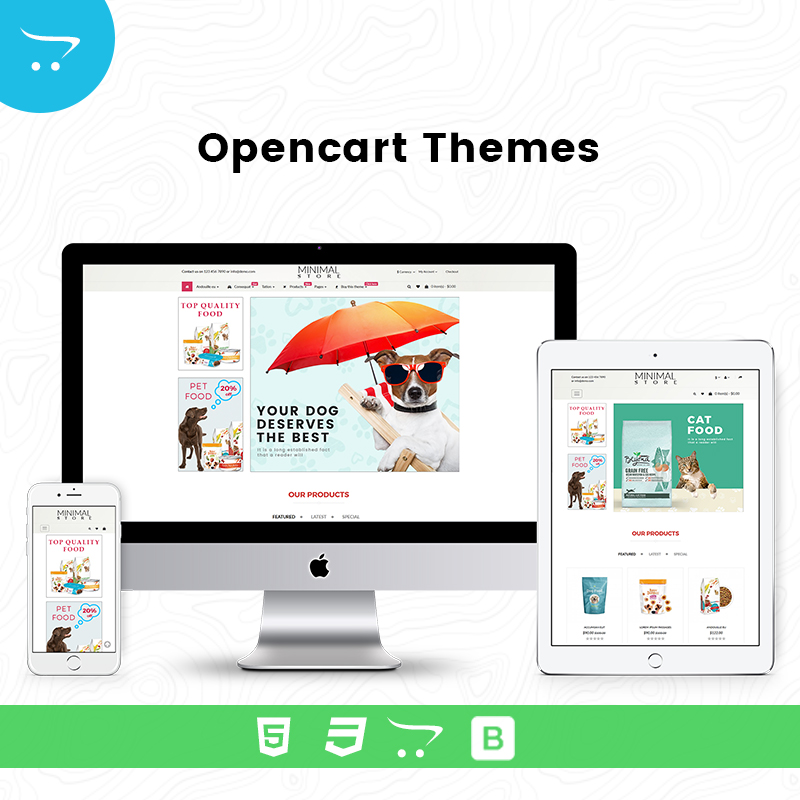 Minimal Store 8 – OpenCart Themes