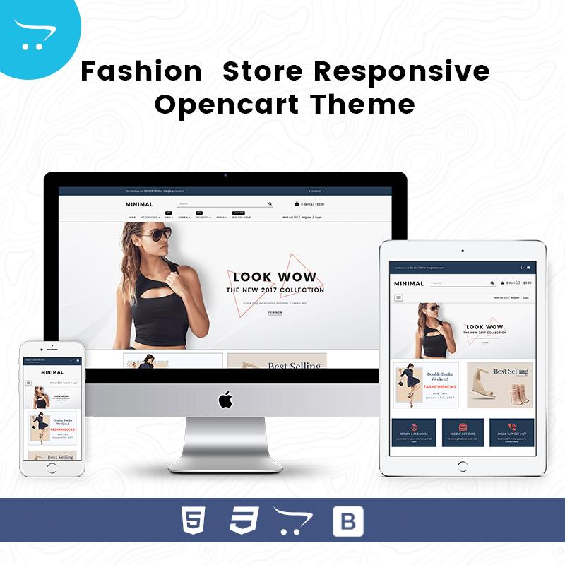 Minimal Store 5 – Responsive Opencart Theme