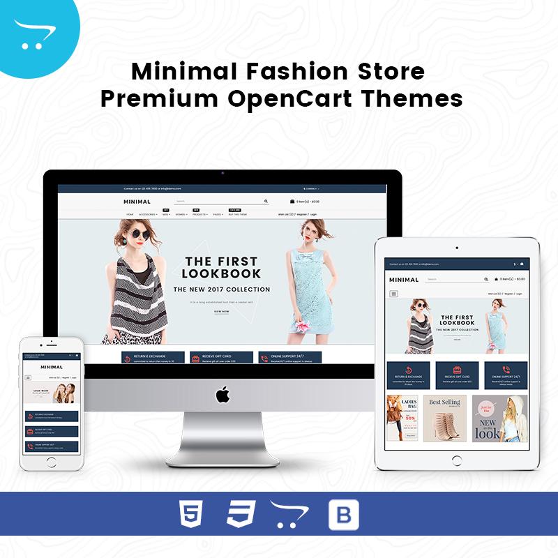 Minimal Fashion Store Premium OpenCart Themes
