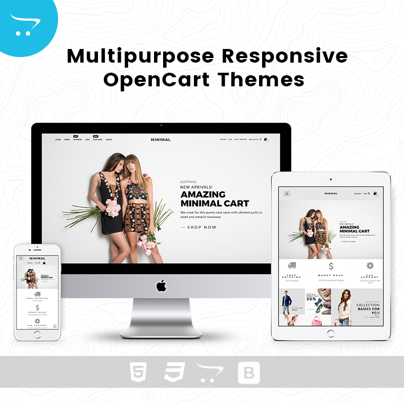Minimal Cart 2 – Multipurpose Responsive Opencart Themes