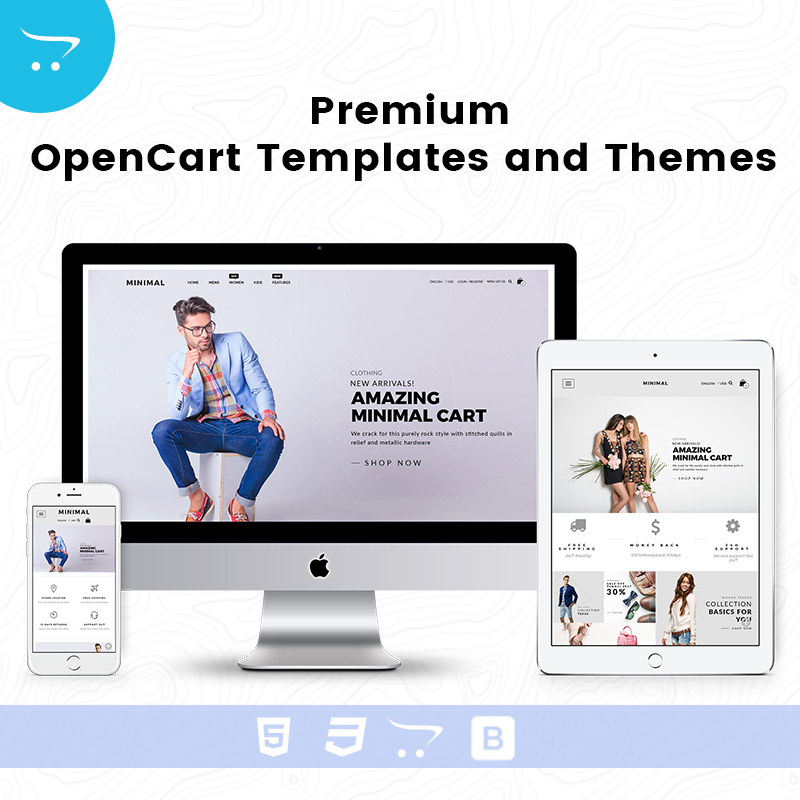 Minimal Cart 4 – Premium OpenCart Templates And Themes