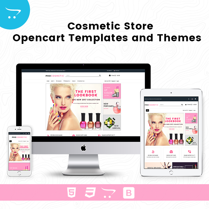 Cosmetic Store – Premium OpenCart Templates And Themes