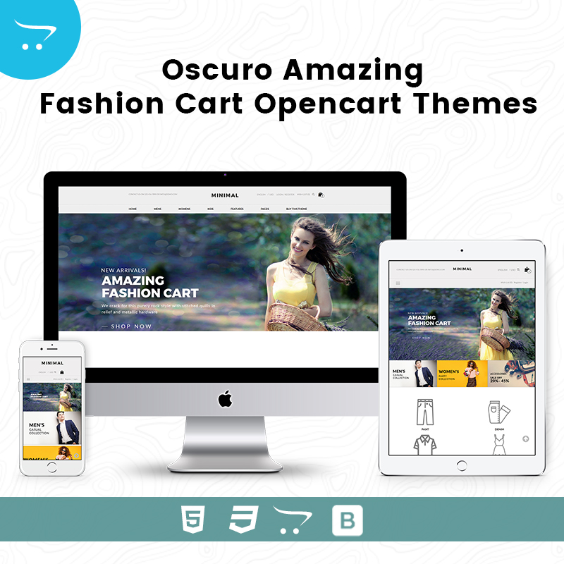 Premium OpenCart Themes – Oscuro Store 2