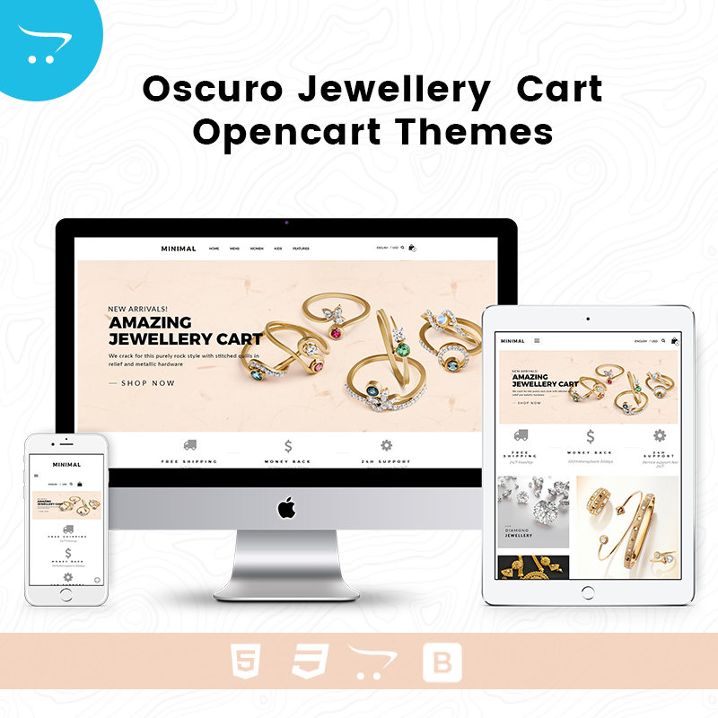 Opencart Multipurpose Theme – Oscuro Store 4