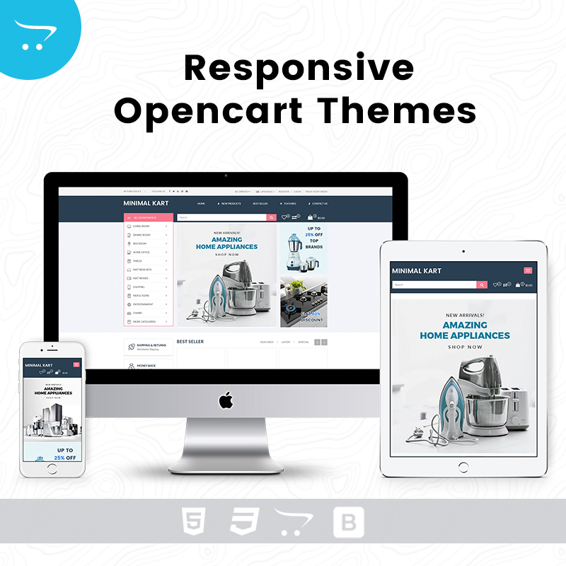 Responsive OpenCart Theme – Oscuro Store 7