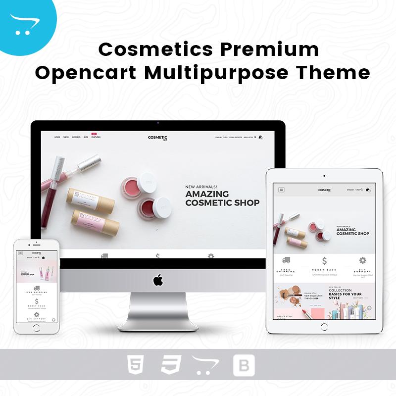 Cosmetics – Opencart Multipurpose Theme