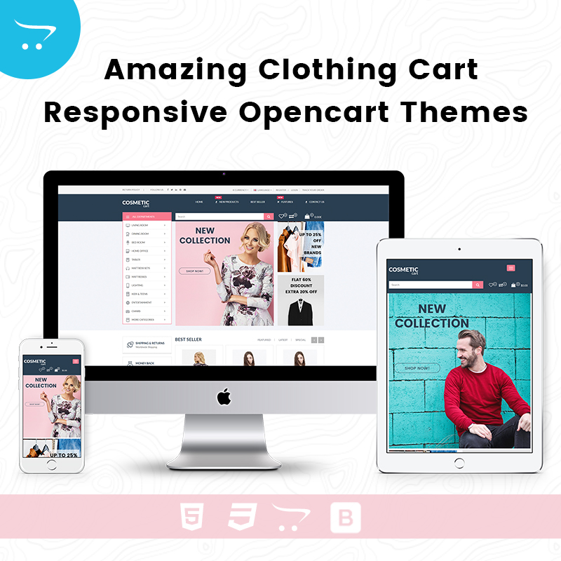 Amazing Clothing Cart – Responsive Opencart Themes
