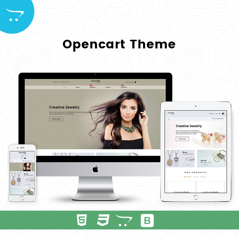 Jewelry Store 7 – OpenCart Themes