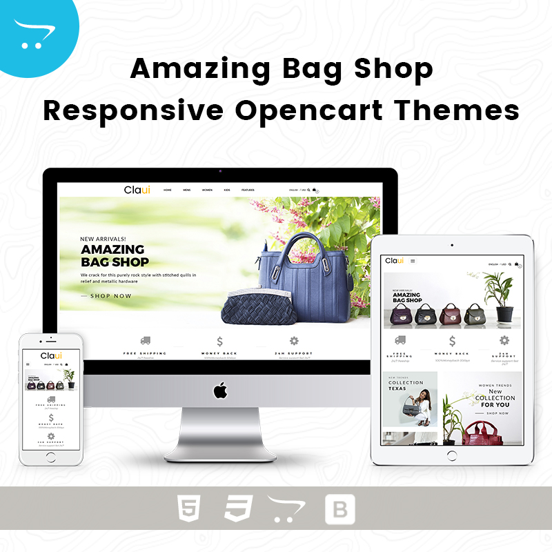 Amazing Bag Shop – Responsive Opencart Themes