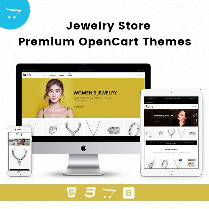Jewelry Store – Premium OpenCart Themes
