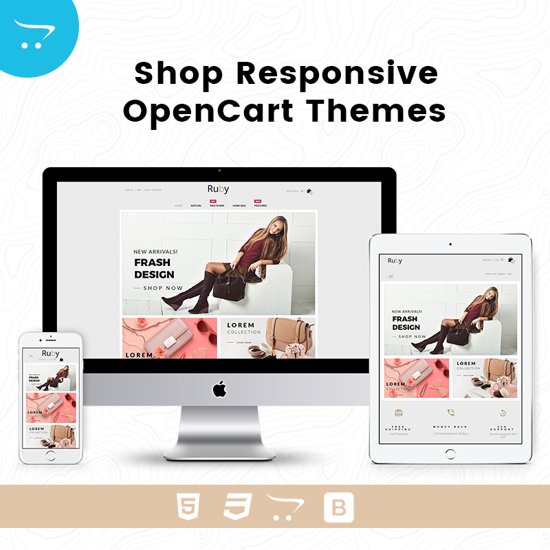 Bags Shop –  Responsive Opencart Theme