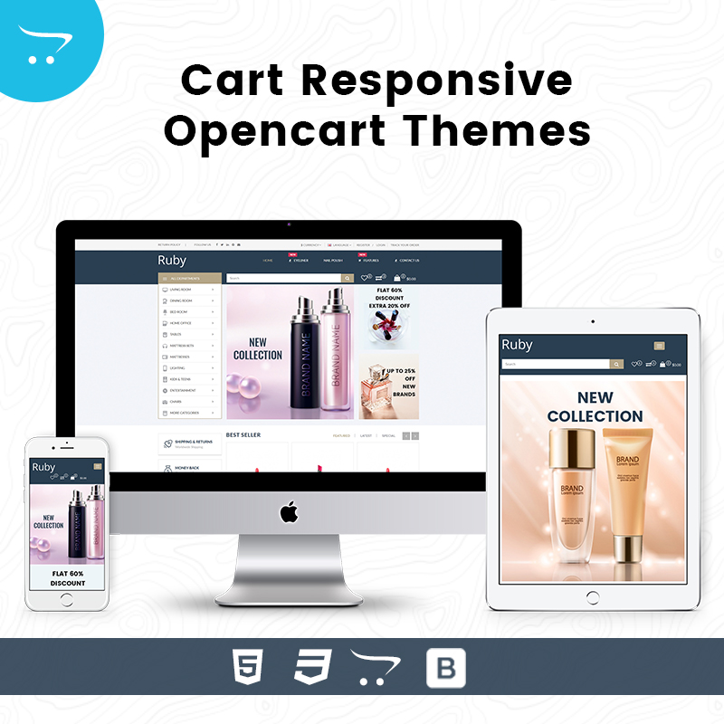 Ruby Cart – Responsive Opencart Themes