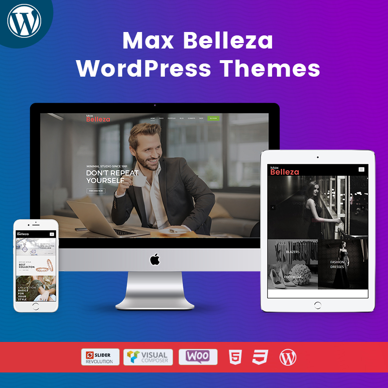 Belleza Responsive WordPress Themes