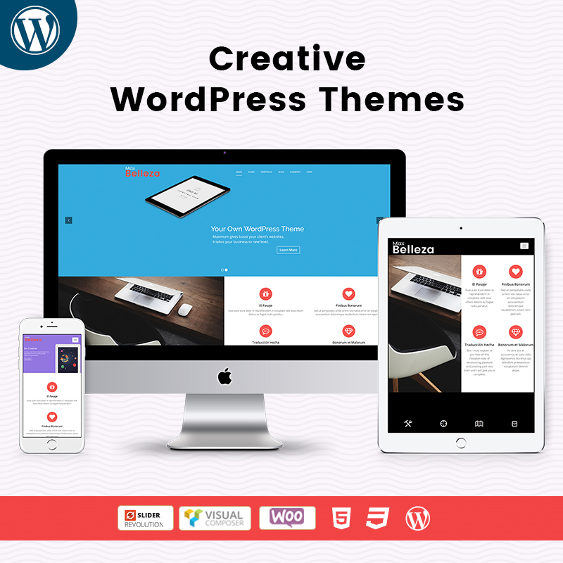 Creative Responsive WordPress Themes By MultiPurpose Themes