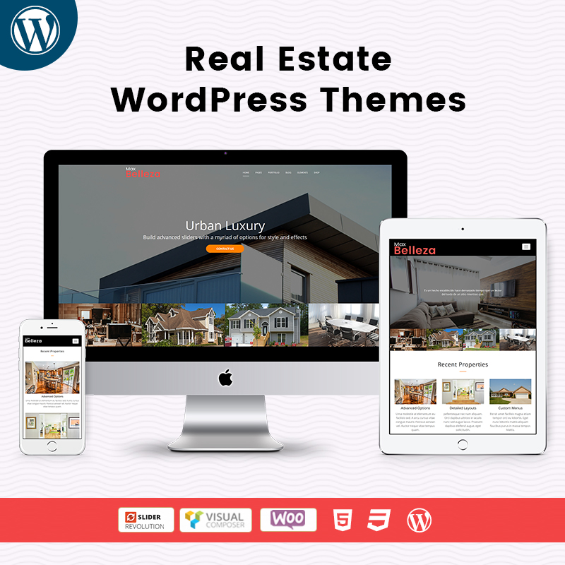 Real Estate Responsive WordPress Themes