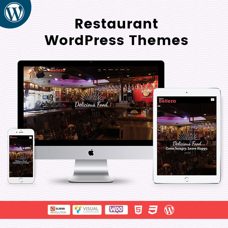 Belleza Restaurant WordPress Themes