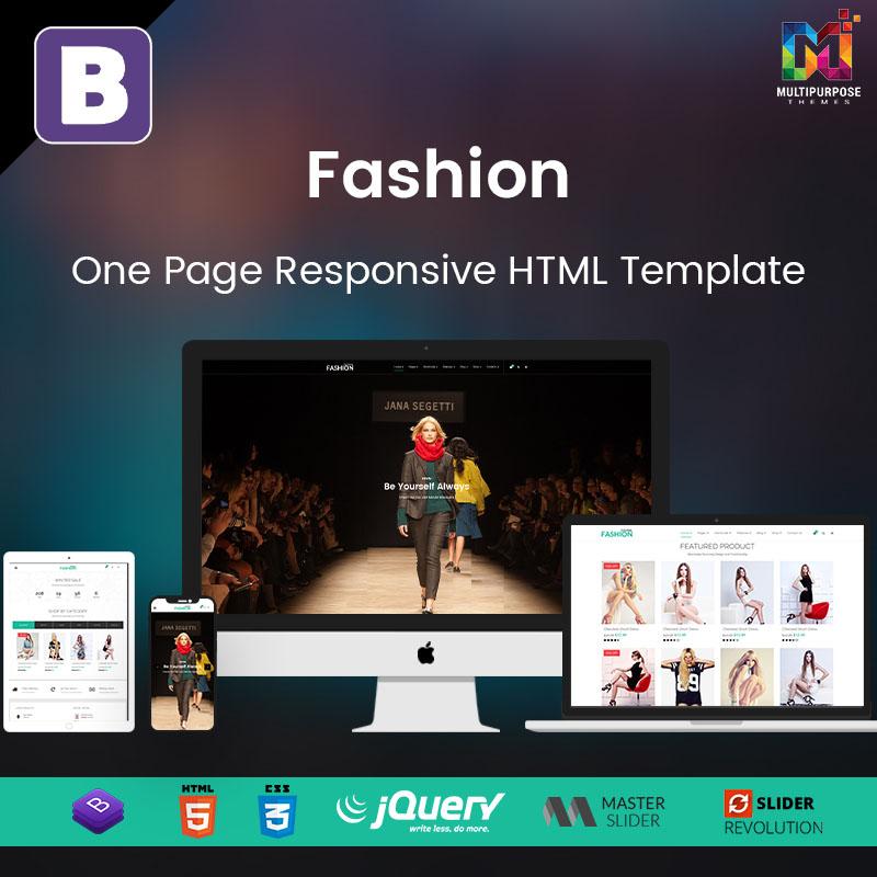 Responsive HTML Template