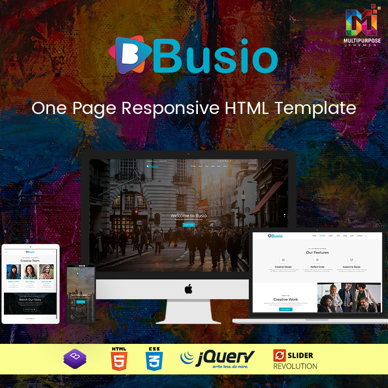 Busio – Multipurpose Bootstrap 4 And 5 HTML Templates