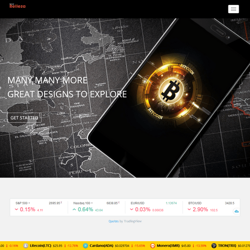 Crypto Bitcoin- Premium Responsive WordPress Themes