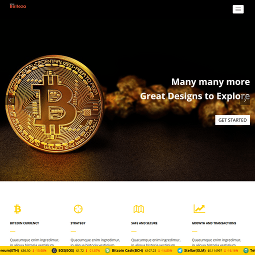 Crypto – Premium Responsive WordPress Themes