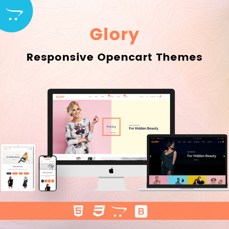 Glory – Premium OpenCart 3 Templates And Themes