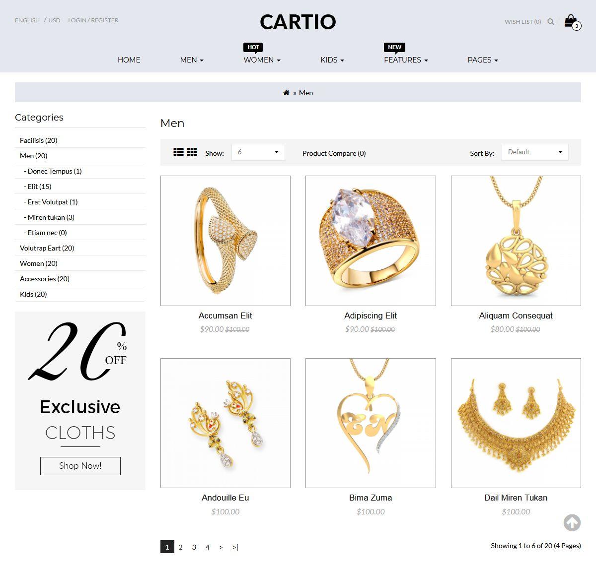 OpenCart Premium Themes