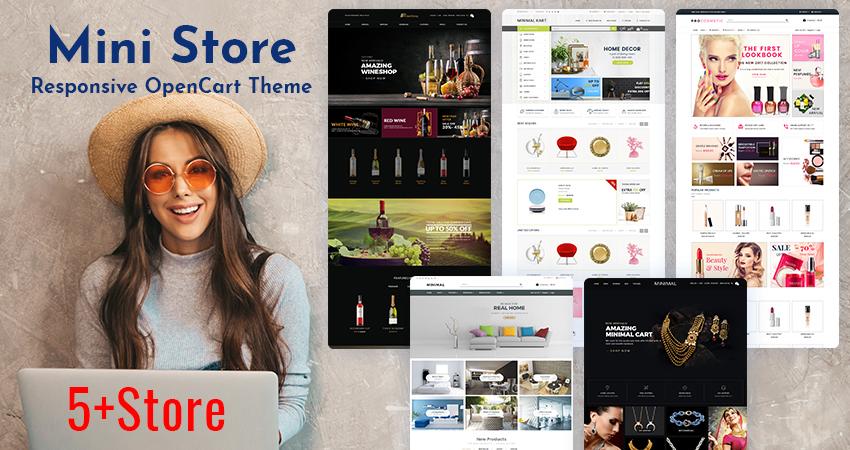 Mini Store Responsive OpenCart Theme