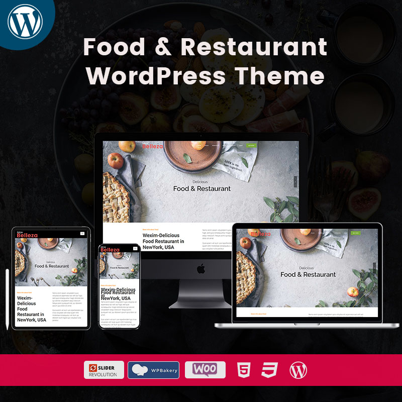 Food & Restaurant WordPress Themes
