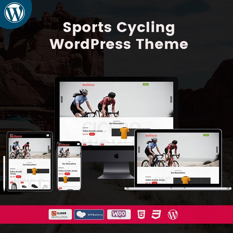 Belleza Sports Cycling Renovate WordPress Themes