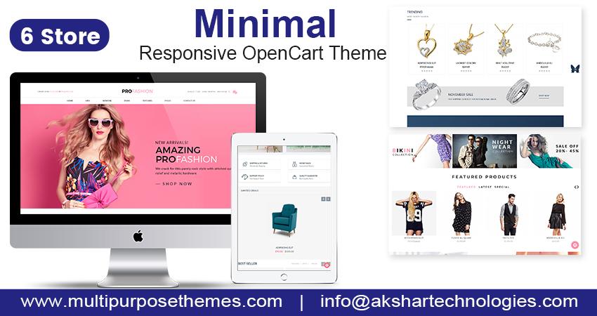 Fashion OpenCart Template | E-Commerce OpenCart Themes