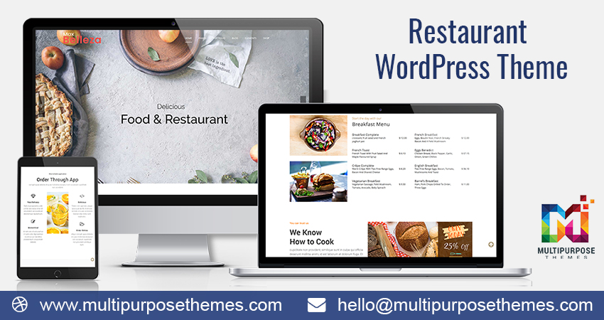 Premium Responsive WordPress Themes | Restaurant | Food