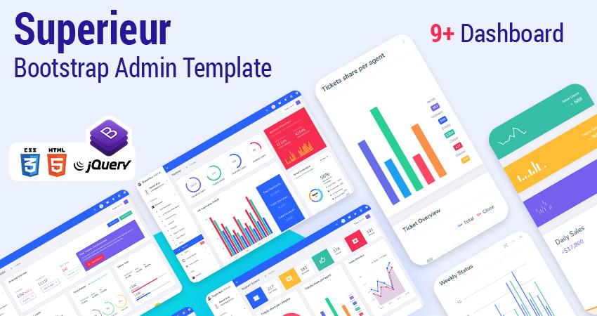 Bootstrap Admin Templates | Premium Admin Template