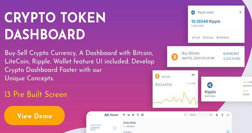 Admin Dashboard   Crypto Admin Templates   Bootstrap Admin Template