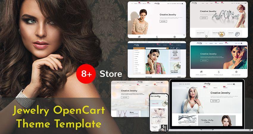 Jewelry Responsive Opencart Theme | Premium OpenCart Theme