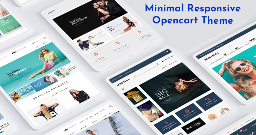 Fashion Store OpenCart Theme | E-Commerce OpenCart Themes